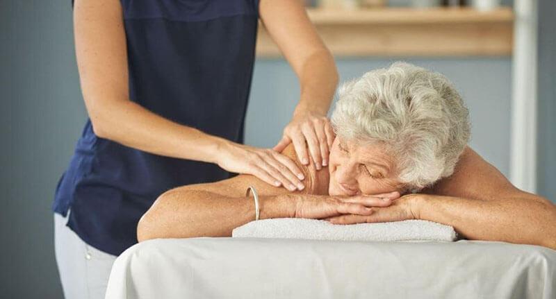 Geriatric massage benefits