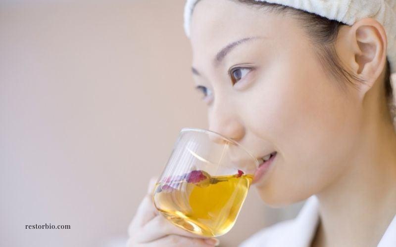 Make herbal teas after a massage