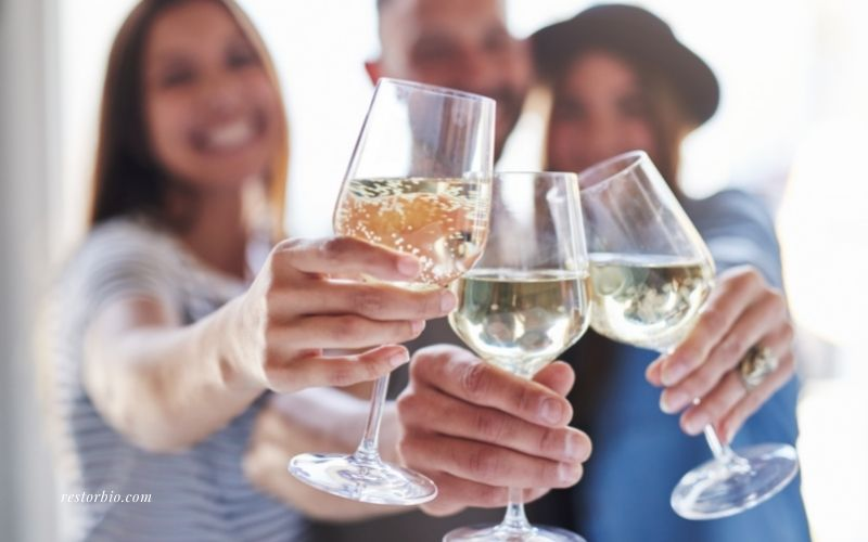 Moderate Alcohol Consumption after a massage