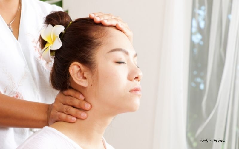 Neck and Head - Chair Massage