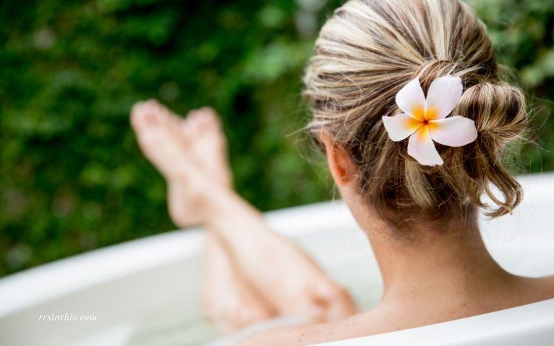 Take a Bath After A Massage