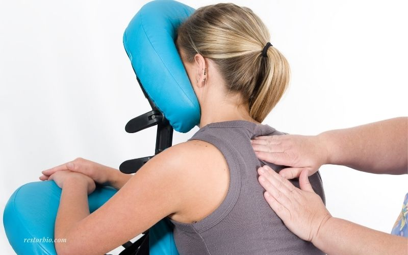 Upper Back & Arms - Chair Massage