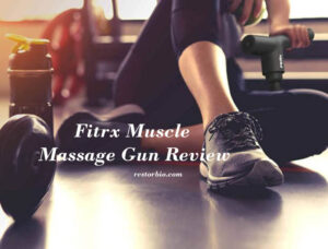 Read more about the article Fitrx Muscle Massage Gun Review 2021: Is It For You?