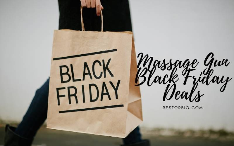 Massage Gun Black Friday Deals 2021