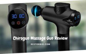 Chirogun Massage Gun Review 2021:  Must-Read Before You Buy